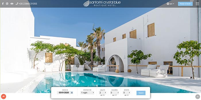 Santorini Crystal Blue Boutique Hotel